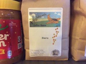 Coffee Beans Peru--Light Roast-C
